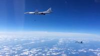 Russische Tu-160 beim Start eines Ch-55-Marschflugkörpers am 20. November 2015 während des Einsatzes in Syrien