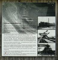 Informationstafel zur Kohleverladung in Mühlrose