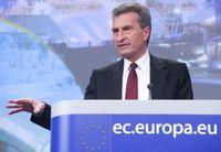 Günther Oettinger Bild: Europäische Kommission