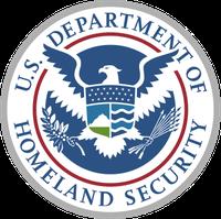 "Logo US Department of Homeland Security"""