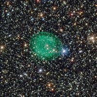 Das VLT der ESO nimmt den Planetarischen Nebel IC 1295 auf Bild: ESO