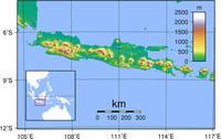 Java (indonesisch Jawa) ist eine der vier Großen Sunda-Inseln der Republik Indonesien. Bild: de.wikipedia.org