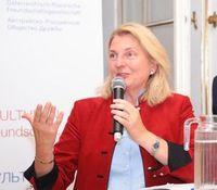 Karin Kneissl: Mehr Diplomatie mit Russland.