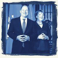 Olaf Scholz und Angela Merkel (2016), Archivbild