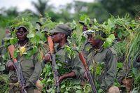 Kongolesische Soldaten werden von US-Militärberatern ausgebildet. Bild: SSgt. Jocelyn A. Guthrie / wikipedia.org