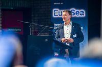 Projektkoordinator Dr. Toste Tanhua beim EuroSea-Auftakttreffen in Brüssel.