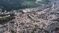 "Überflutung im Ahrtal nach dem Unwetterereignis ""Bernd"".  Bild: Provinzial Holding AG Fotograf: Provinzial Holding AG"