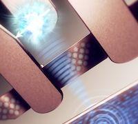 Ein Atom als Bit: So stellt sich das ein Künstler vor. Bild: unsw.edu.au