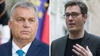 Die Gegenspieler: Viktor Orbán und Gergely Karácsony Bild: Remix News / UM / Eigenes Werk