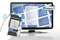 Durch das Fernsehprogramm zappen durch Gesten mit dem mobilen Gerät, Bewegungen oder Schütteln. Quelle: Copyright: Fraunhofer (idw)