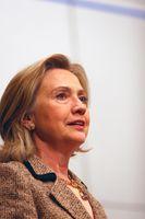 Hillary Clinton in February 2011