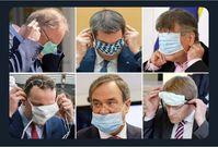 Der Mund-Nasenschutz ist wissenschaftlich betrachtet gesundheitsgefährlich und wir daher nur von Politikern via Gewaltandrohung verordnet (Symbolbild)