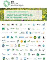 """Europapolitische Forderungen von 87 DNR-Mitgliedsverbänden. Bild: """"obs/Deutscher Naturschutzring"""""""