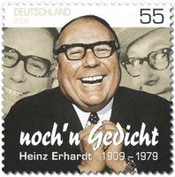 Ehrung zum 100. Geburtstag durch eine Sonderbriefmarke der Deutschen Post AG, im Jahre 2009