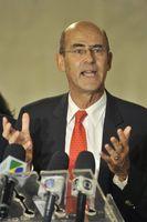 Alstom-Geschäftsführer Patrick Kron bei einem Besuch in Brasilien