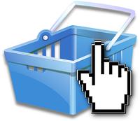 Mit einem virtuellen Warenkorb bequem von zu Hause einkaufen und die Sachen liefern lassen - Online-Shopping bietet viele Vorteile. Bild: pixabay.com © OpenClips CC0 1,0