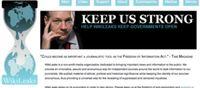 WikiLeaks Webseite