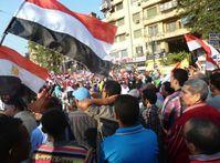 Umsturz in Ägypten: Feiernde Ägypter am 7. Juli 2013