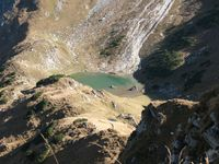 Oberer Gaialpsee vom Süden