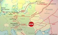 Nord Stream 2 Pipeline und restliches russisches Gas Netz