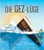 """Cover """"Die GEZ-Lüge"""""""