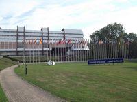 Gebäude des Europarats in Straßburg