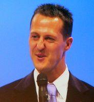 Schumacher im November 2007