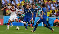 Mesut Özil im WM-Finale 2014