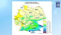 Grafik: Deutschen Wetterdienstes (DWD)