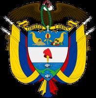 Wappen der Republik Kolumbien