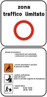 Segnale stradale utilizzato in Italia.