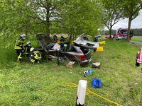 Verkehrsunfall mit Verletzten Bild: Feuerwehr
