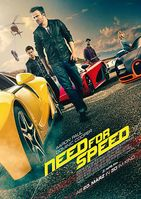 "Kinoplakat von ""Need For Speed"""