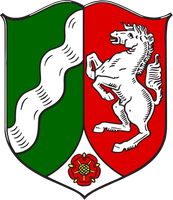 Wappen von Nordrhein-Westfalen