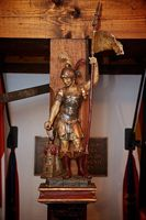 Der Heilige St. Florian ist der Schutzpatron der Feuerwehrangehörigen. Am 4. Mai wird seiner gedacht. Bild: Feuerwehr