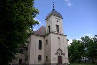 Altlandsberg: Ehemalige Schlosskirche vor der Restaurierung