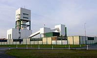 Teile der Gebäude des Erkundungsbergwerks