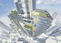 """ThyssenKrupps MULTI besteht aus mehreren Kabinen pro Schacht und ermöglicht eine vertikale und horizontale Bewegung. Bild: """"obs/ThyssenKrupp Elevator AG"""""""