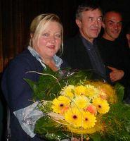 """Marianne Sägebrecht beim """"Filmfest Biberach"""" 2003"""