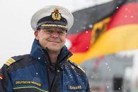 Fregattenkapitän Schwarz.