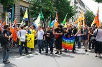 Demo 'Wir sind Gamer' & Killerschach - Berlin 25.07.2009 Bild: Olaf Hansel