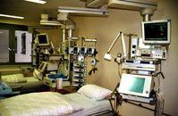 Krankenzimmer in einer Intensivstation (2007)