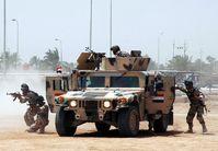 Soldaten der 6. irakischen Armee