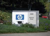 Hewlett-Packard Zentrale in Palo Alto, California