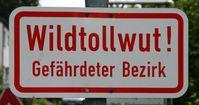 Warnung vor Wildtollwut in Deutschland