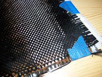 Kohlenstofffasergewebe wie diese werden oft zur Herstellung von Kohlenstofffaser-Kunststoff-Verbunden verwendet