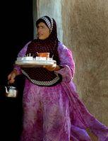 Eine jesidische Frau im syrisch-irakischen Grenzgebiet (Symbolbild)