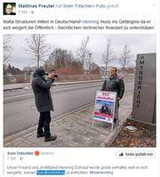 Bild: Screenshot Facebook Account von Henning Dornauf