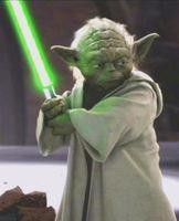 Seine berühmtesten Figuren sind die beiden Star-Wars-Charaktere Yoda, hier abgebildet  und Chewbacca. Bild: Lucasfilm Ltd. - wikipedia.org
