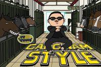 "PSYs ""Gangnam Style"""